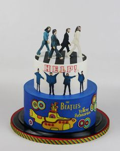 Excellent Image of Beatles Birthday Cake . Beatles Birthday Cake Cake For A Beatles Fan Cakecentral Events And Fun Beatles Beatles Party, Beatles Cake, The Beatles, 13 Birthday Cake, Adult Birthday Cakes, Cupcakes, Cupcake Cakes, Festa Yellow Submarine, Music Cakes