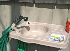 Big-Instant-Outdoor-Wash-Sink-Garden-Hose-Reel-Plastic-Wall-Mount-Utility-Sinks