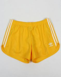 Adidas Originals Football Shorts Eqt Yellow