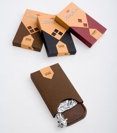 Chocolate Schogetten Diseño de Packaging