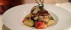 Thalassa's Pistachio-Crusted Sea Bass