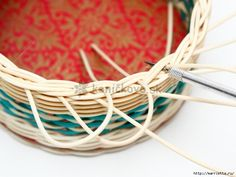 Tutorial - How to weave the rim