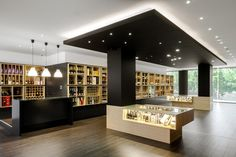 Wine Store Design in Portugal Stylishly Exhibiting Over A Thousand Different Beverages