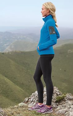 Women's Cloud Layer® Pro Fleece Full-Zip Jacket | Our premier layering fleece for active pursuits from alpine climbing to skiing to all-season travel. Wear it over a thin baselayer on the mountain; over a T-shirt in town.