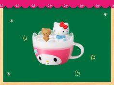 McDonald's Japan x Sanrio #HelloKitty #TinyChum (๑>◡<๑) ハローキティとマイメロディのティーカップ