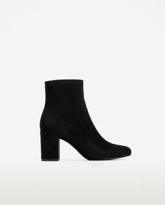 Image 2 of ELASTIC HIGH HEEL ANKLE BOOTS from Zara
