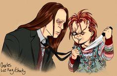 Charles Lee Ray/Chucky by HumanPinCushion