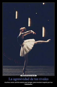 carteles arte ballet bailar talento respeto desmotivaciones