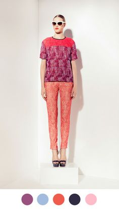 Peter Som, Resort 2013 on Color Collective