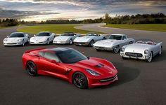 Corvette 2014... plus old friends