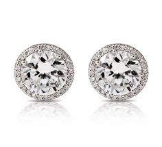 Tacori Diamond Earrings, Diamond Hoop Earrings