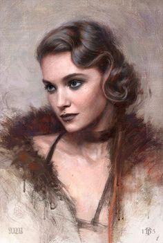 Digital Portrait, Portrait Art, Character Inspiration, Character Art, Deviant Art, Face Art, Figurative Art, Art Pictures, Cyberpunk