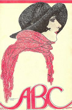 By Stuart Carvalhais, 1 9 2 2, ABC magazine, number 81, January.  (1887-1961, Portuguese)