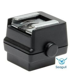 Seagull SC-5 Hot Shoe Adapter to Standard Flash Shoe with PC Connection for Konica Minolta Maxxum and Sony Alpha Digital SLR Cameras by Seagull. $9.76. The Seagull SC-5 Flash Adapter is specially designed to connect all standard shoe flashes to the proprietary Sony Alpha and Minolta Maxxum hot shoes. This will allow you to attach any flash or accessory having a standard shoe. This adapter is fully compatible to work with all Sony Alpha and Konica Minolta Maxxum SLR Cam...