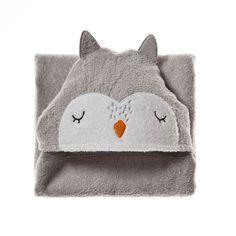 Adairs Baby Animal Hooded Towel Owl, baby towel, towel for baby Adairs Kids, Baby Towel, Baby Bumps, Cotton Towels, Little People, Baby Animals, Kids Room, Owl, Baby Boy
