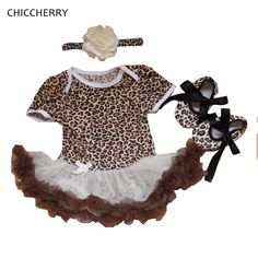 Vintage Leopard Baby Party Dress //Price: $25.16 & FREE Shipping //     #KidsClothing