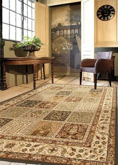 The signature American Heirloom collection is inspired by classic, hand-woven oriental rugs combining tradition and understated elegance with classic style.