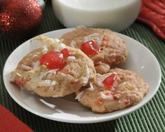 Pineapple Cherry Cookies Recipe