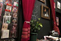 tim burton cafe, GOTHIC LOLITA CAFE, kokusyoku sumire, http://www.mylolitastyle.com/2012/11/sumire-no-tenmado-cafe-shinjuku/