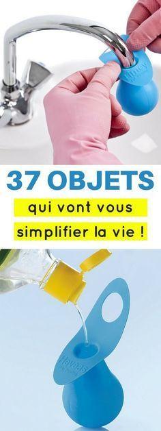 Dans cet article, j'ai listé les 37 objets les plus malins pour vous aider à organiser, ranger, nettoyer la maison plus facilement !