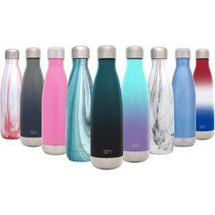 The 11 Best Reusable Water Bottles Reviews & Buying Guide Hydro Flask Water Bottle, Best Reusable Water Bottle, Best Water Bottle, Silicone Rings, Stainless Steel Water Bottle, Amazon, Metal, Stuff To Buy