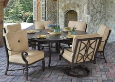 The Bellagio Collection From Pride Family Brands' 2015 Introductions Features Classical Design, Modern Luxury.  Award-winning designer and manufacturer of luxury outdoor furnishings, Pride Family Brands  leads off it 2015 introductions with the Bellagio Collection encompassing classical design lines and luxury in details. http://durabledecor.blogspot.com/2014/06/the-bellagio-collection-from-pride.html