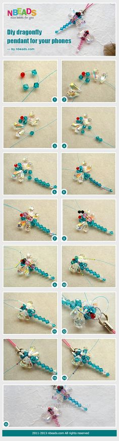 DIY Dragonfly Pendant For Your Phones Pictures, Photos, and Images for Facebook, Tumblr, Pinterest, and Twitter