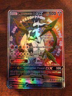 Seltene holographische Mega Arceus Z Pokémon Karte - Kimberly Gifford Pokemon Pokedex, Pokemon Sammelkarten, Pokemon Fusion, Pokemon Cards Legendary, All Pokemon Cards, Pokemon Trading Card, Deadpool Pikachu, Pikachu Art, Carte Pokemon Mega