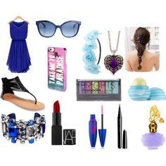 Fancy Friday by raylynn12 on Polyvore featuring polyvore, fashion, style, Wet Seal, La Perla, claire's, Aéropostale, Charlotte Russe, Fendi, Boohoo, Maybelline, Marc, Anna Sui and Eos