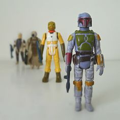 Star Wars Action Figures 70s / 80s Kenner Boba by halfpintsalvage, $75.00 Robyn would love these!