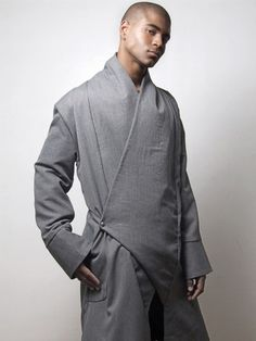 Check out this fashionable kimono style overcoat by Stylehive!