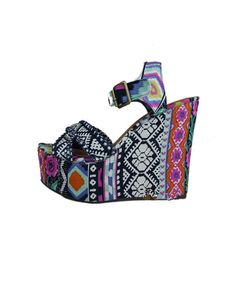 tribal platform wedges
