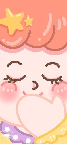 Soft Wallpaper, Aesthetic Pastel Wallpaper, Kawaii Wallpaper, Wallpaper Iphone Cute, Cartoon Wallpaper, Pattern Wallpaper, Cute Wallpapers, Wallpaper Backgrounds, Diy Journal Books