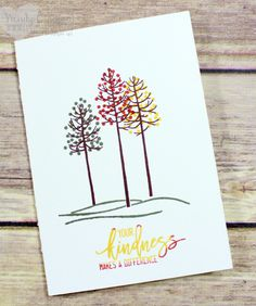 Card ideas using the Thoughtful Branches exclusive bundle from Stampin' UP! This bundle will be available Aug 2 - Aug 31 2016 Wendy Cranford www.luvinstampin.com