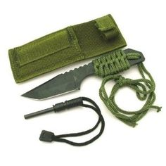 "7"" Hunting Knife with Fire Starter"