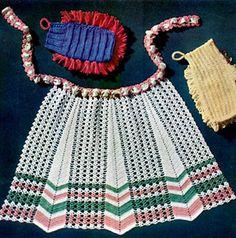Crocheted Apron | Free Crochet Patterns
