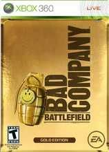 Battlefield: Bad Company Gold Edition by Electronic Arts - XBOX 360 Rated TEEN Used - excellent used condition, comes with original case, no manual. Set in the near future, the Battlefield: Bad Company single-player campaign drops gamers into a dr. Xbox 360 Video Games, Latest Video Games, Battlefield Bad Company 2, Video Game Collection, Sucker Punch, Single Player, Electronic Art, Box Art, Best Games