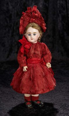 Pretty French Bisque Bebe by D... Auctions Online | Proxibid
