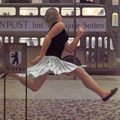 - Alex Colville - Berlinbus -