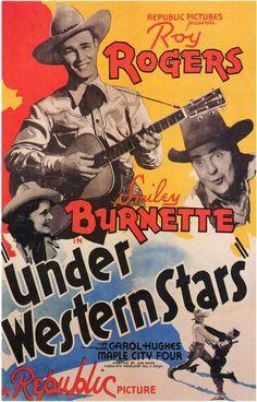 Under Western Stars 11x17 Movie Poster (1938)