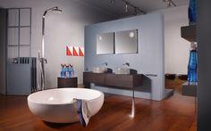 The scent of Flaminia - Showroom via Solferino, 18 - Milano - aprile 2016 Showroom, 18th, Bathtub, Contemporary, Lifestyle, Design, Standing Bath, Bathtubs, Bath Tube