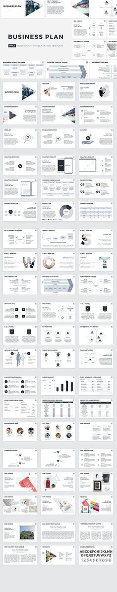 Business meeting presentation template in Visme Leadership
