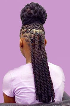 Short Dread Styles, Dreads Styles For Women, Short Dreadlocks Styles, Short Locs Hairstyles, Locs Styles, Dreadlock Styles, Ponytail Styles, Braid Styles, Curly Hair Styles