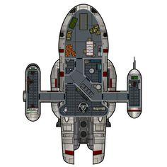 YKL-37R Nova Courier  (Deck Plan)