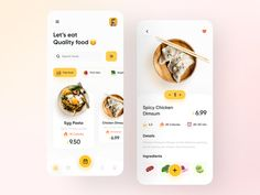 by Sajon for Fireart Studio on Dribbble Ux Design, Design Food, Design Ideas, Delivery App, Meal Delivery Service, Delivery Food, Pizza Delivery, Design Android, Room For Improvement