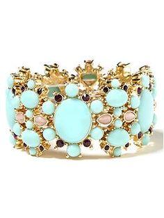 Summer State Stretch Bracelet Love the color
