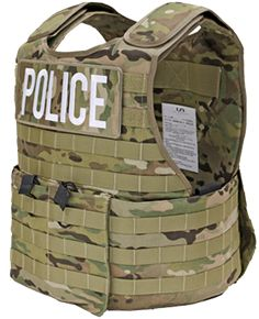 U.S. Armor | MSTV - Mission Special Tactical Vest (Front) | Custom Fit Body Armor | You'll Wear It! | www.usarmor.com
