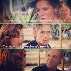 The notebook, Ryan gosling, Noah Calhoun, Ali, Rachael McAdams one of my favorite movies