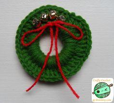 DIY: Mini Crochet Wreath