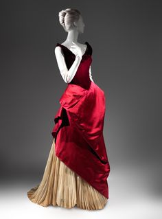 Charles James (American, born Great Britain, 1906–1978). Ball gown, 1949-1950. The Metropolitan Museum of Art, New York. Brooklyn Museum Costume Collection at The Metropolitan Museum of Art, Gift of the Brooklyn Museum, 2009; Gift of Arturo and Paul Peralta-Ramos, 1954 (2009.300.2786) #CharlesJames